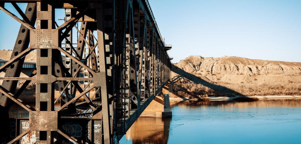 Graffiti Covered Bridge