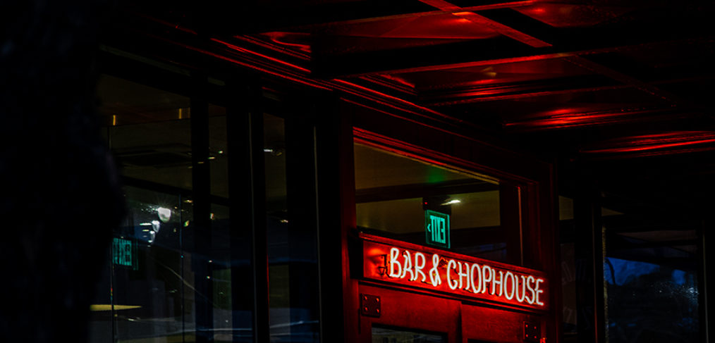 Bar and Chophouse lighting
