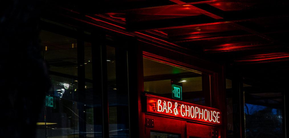Bar and Chophouse lighting